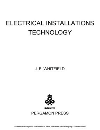 Electrical Installations Technology
