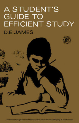 A Student's Guide to Efficient Study