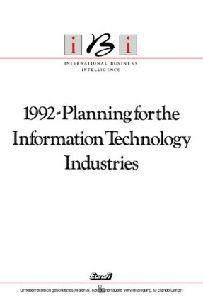 1992-Planning for the Information Technology Industries