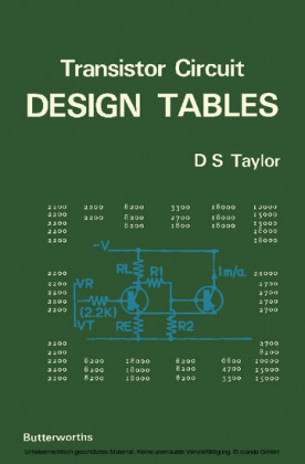 Transistor Circuit Design Tables