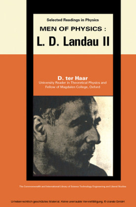 Men of Physics: L.D. Landau