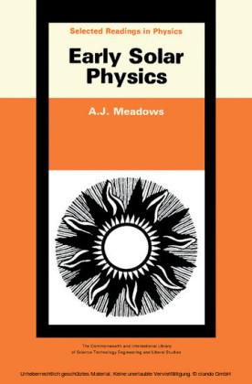 Early Solar Physics