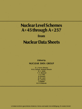 Nuclear Level Schemes A = 45 through A = 257 from Nuclear Data Sheets