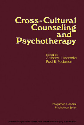 Cross-Cultural Counseling and Psychotherapy