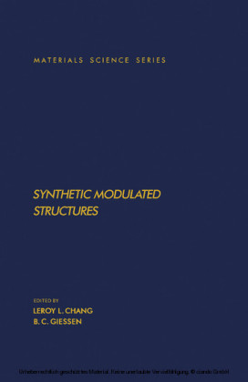 Synthetic Modulated Structures