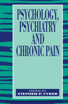Psychology, Psychiatry and Chronic Pain