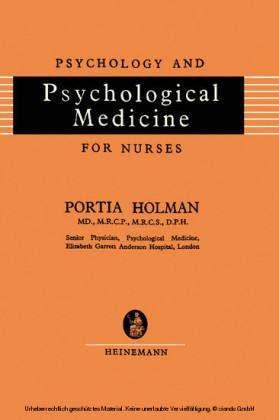 Psychology and Psychological Medicine for Nurses