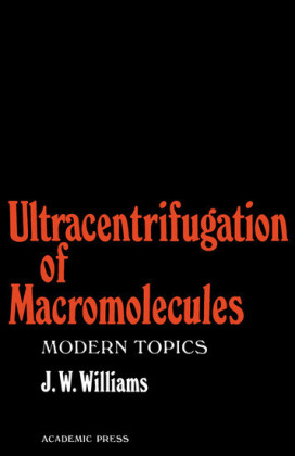 Ultracentrifugation of Macromolecules