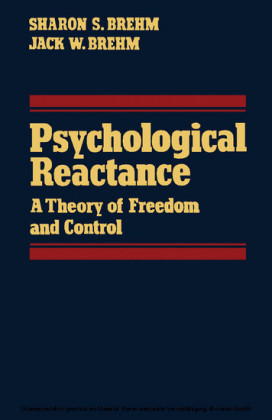 Psychological Reactance