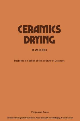 Ceramics Drying