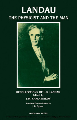 Landau: The Physicist & the Man