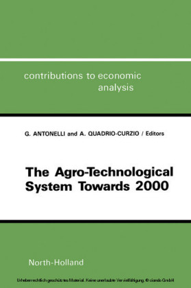 The Agro-Technological System towards 2000