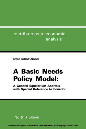 A Basic Needs Policy Model