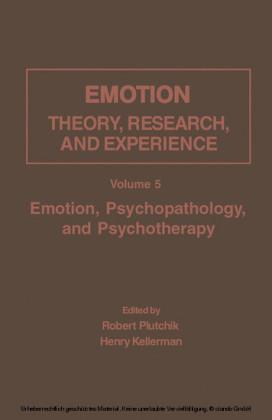 Emotion, Psychopathology, and Psychotherapy