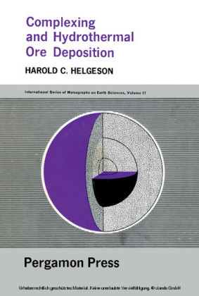 Complexing and Hydrothermal Ore Deposition
