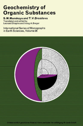 Geochemistry of Organic Substances