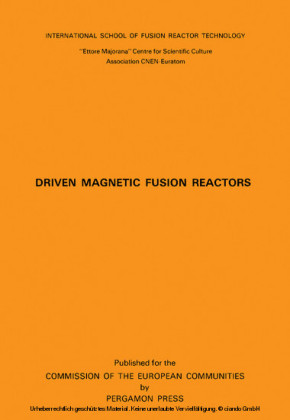 Driven Magnetic Fusion Reactors