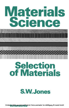 Materials Science-Selection of Materials