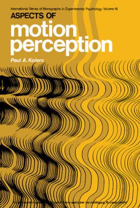 Aspects of Motion Perception