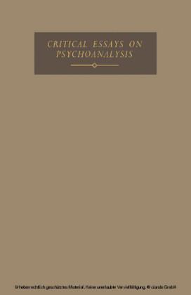 Critical Essays on Psychoanalysis
