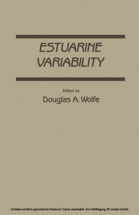 Estuarine variability