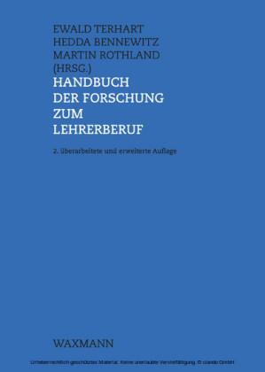Handbuch der Forschung zum Lehrerberuf