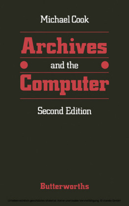 Archives and the computer