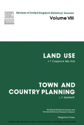 Land Use and Town and Country Planning