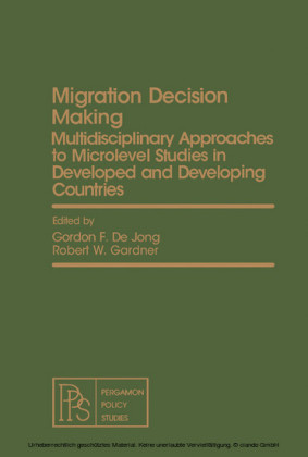 Migration Decision Making