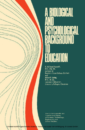 A Biological and Psychological Background to Education
