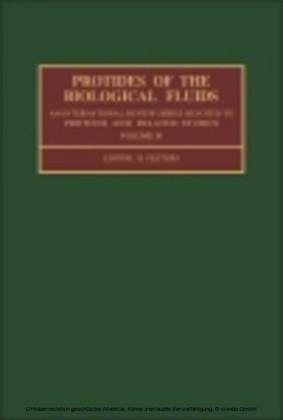 Protides of the BIological Fluids