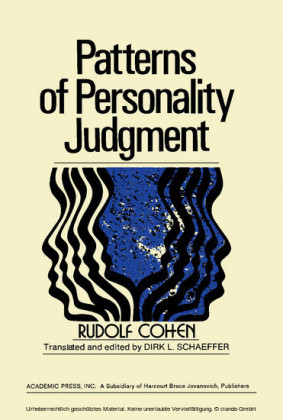 Patterns of Personality Judgment