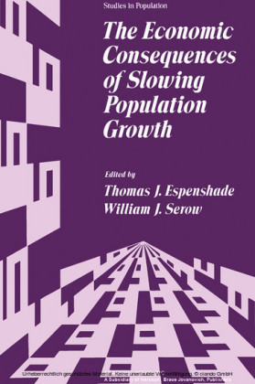 The Economic Consequences of Slowing Population Growth