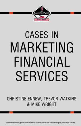 Cases in Marketing Financial Services