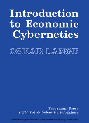 Introduction to Economic Cybernetics