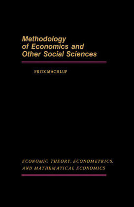 Methodology of Economics and Other Social Sciences