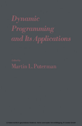 Dynamic Programming and Its Applications