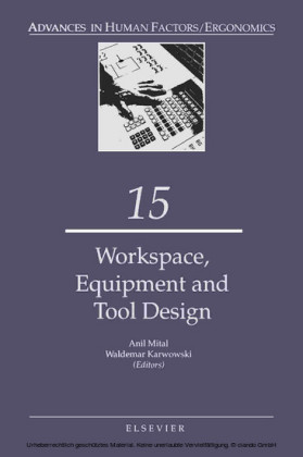 Work Space, Equipment and Tool Design