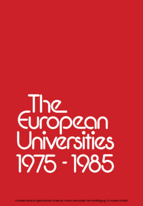 The European Universities 1975 - 1985
