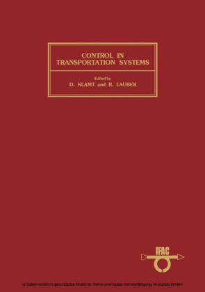 Control in Transportation Systems
