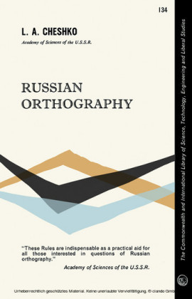 Russian Orthography