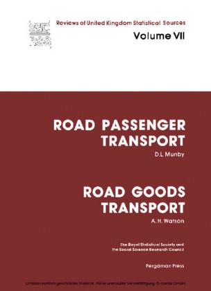Road Passenger Transport: Road Goods Transport