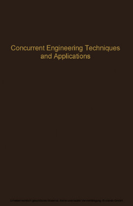 Concurrent Engineering Techniques and Applications
