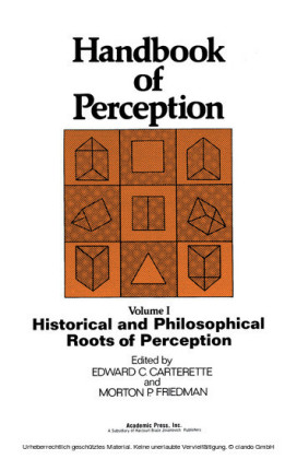 Historical and Philosophical Roots of Perception