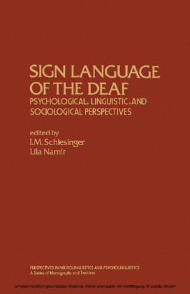 Sign Language of the Deaf