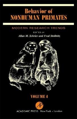 Behavior of Nonhuman Primates
