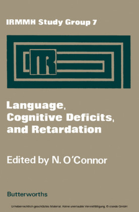 Language, Cognitive Deficits, and Retardation