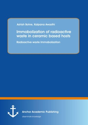 Immobolization of radioactive waste in ceramic based hosts: Radioactive waste Immobolization
