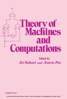 Theory of Machines and Computations