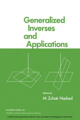 Generalized Inverses and Applications